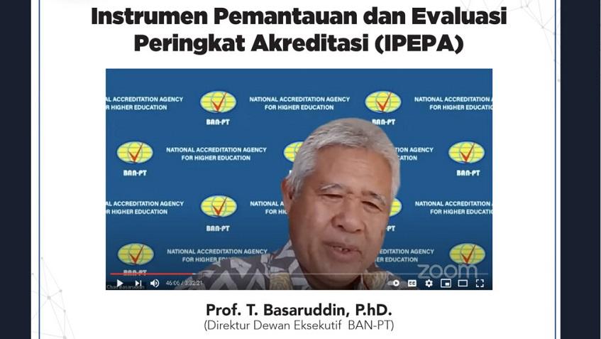 Unida Ikuti Sosialisasi Instrumen Pemantauan dan Evaluasi Peringkat Akreditasi (IPEPA)
